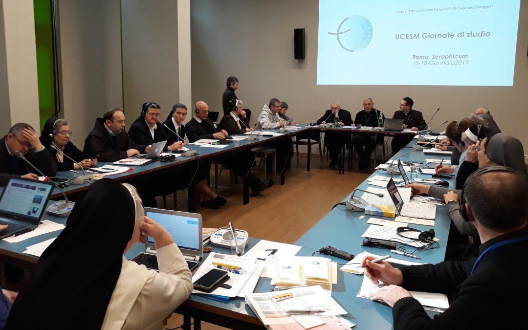 Journées d'étude de l'UCESM les 16-18 janvier 2019 au Seraphicum, Rome