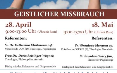 """Webinar """"Geistlicher Missbrauch"""" vom 18. Mai 2021 – Das Video"""